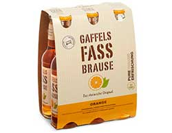 Sixpack Fassbrause Orange